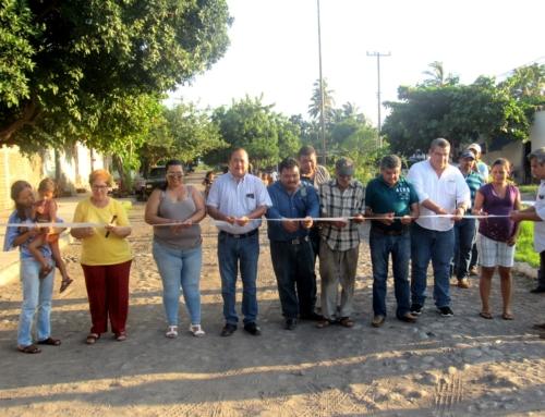 Obras con inversión de más de 3 mdp entrega alcalde Ernesto Márquez